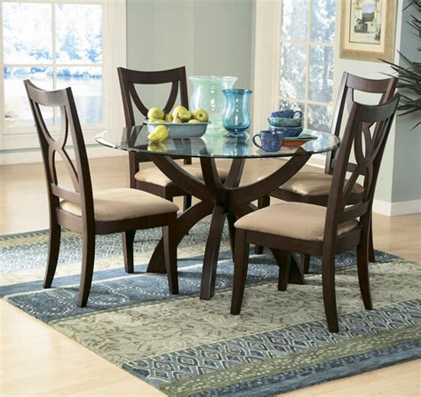 unique styles   glass dining table home design