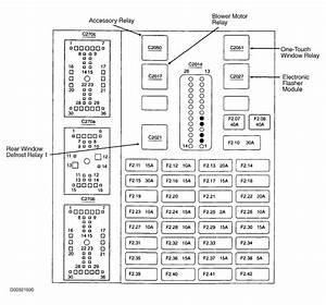 2003 Ford Taurus Engine Diagram
