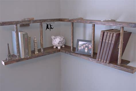 vintage ladder shelf antique ladder book shelf diy house 3231