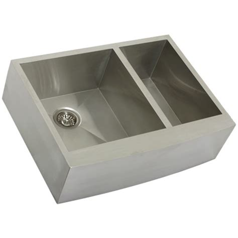 ticor kitchen sinks ticor s4409 apron curved front stainless kitchen sink 2734