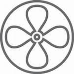 Ventilador Icono Icon Fan Gratis Icons