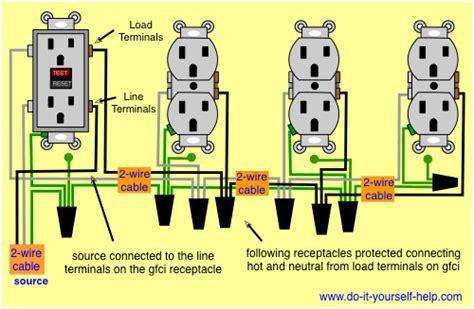 Receptacle Adding Gfci Existing Circuit Black