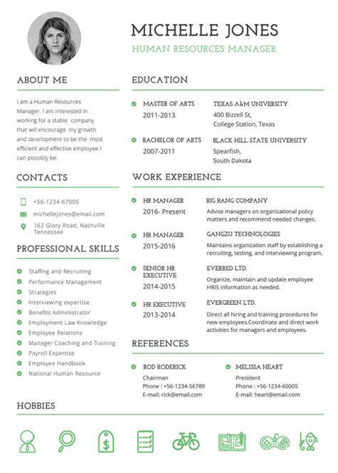 It Cv Template Word by Professional Cv Template In Word 50 Free Microsoft Word