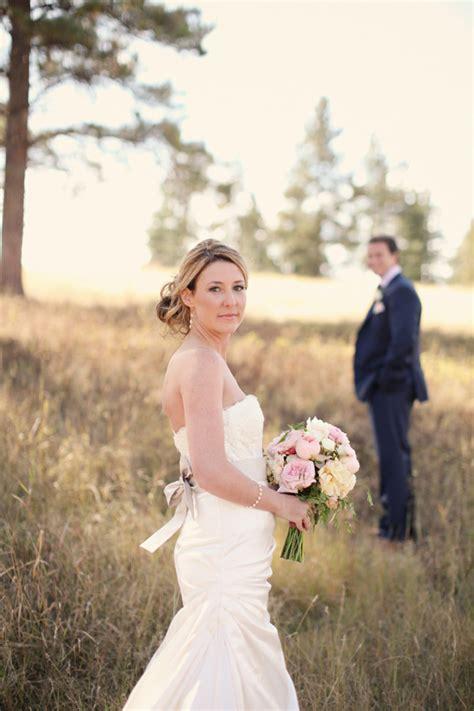 rustic chic montana wedding modwedding