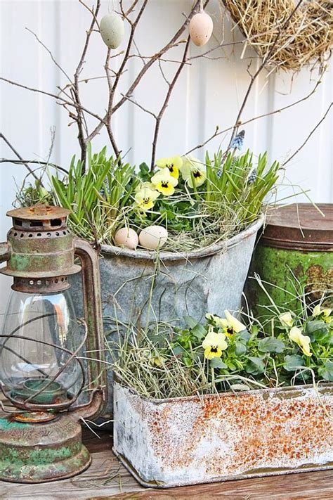 rustic plants 20 inspiring spring porch d 233 cor ideas shelterness