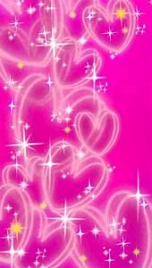 Image Gallery neon pink hearts wallpaper
