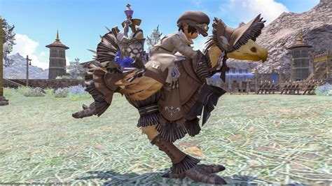 Classic And Cute Chocobo Armor Mandervillian Barding