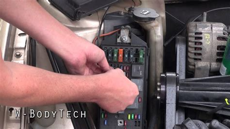 w bodytech howto bypass the fuelpump relay on any 1997 89 mustang wiring diagram