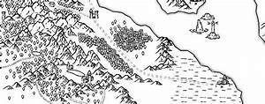 Black and White Overland Map - Free Fantasy Maps
