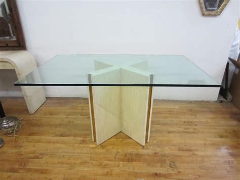 table pedestals for glass tops pedestal dining table