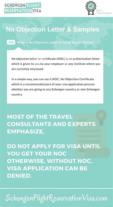 objection letter  visa application  expert advise