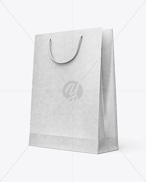 Includes special layers and smart objects for your amazing artwork. Download Kraft Paper Shopping Bag Mockup - Half Side View ...