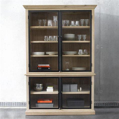 vitrine de cuisine 17 meilleures idées à propos de meuble vitrine sur