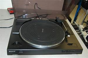Used Sony Stereo Turntable System Ps Lx300usb 027242731271