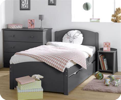 meuble chambre enfants chambre enfant nature complète grise achat sur ma