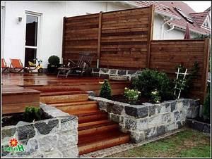 Terrasse Aus Holz : sichtschutz terrasse aus holz download page beste wohnideen galerie ~ Sanjose-hotels-ca.com Haus und Dekorationen