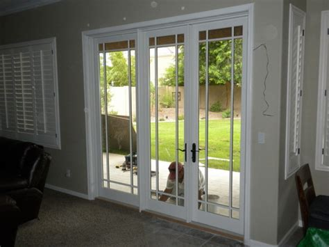 Small French Exterior Doors For Home Design
