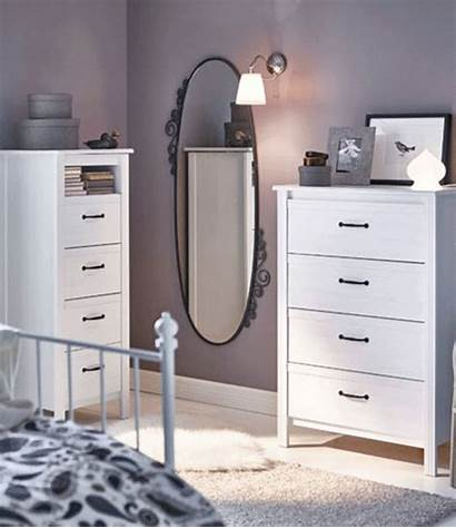 Drawers Chest Ikea Mirrors Bedroom