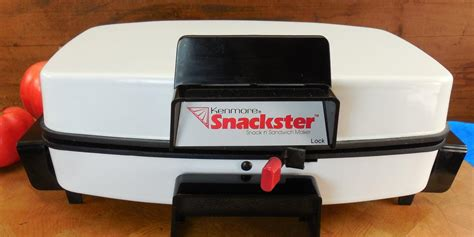sears kenmore toastmaster white snackster electric sandwich snack ma olde kitchen home