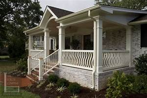 vinyl front porch railing - How To Manage The Front Porch