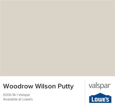 woodrow wilson putty by valspar neutral paint colors from
