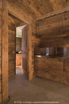 Chalet Lhotse Rustic Yet Glamorous In by Arte Rovere Antico Photo By Duilio Beltramone For