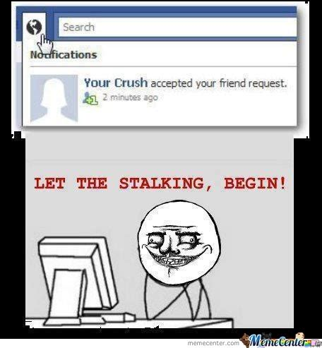Stalking Meme - facebook stalker memes www pixshark com images galleries with a bite