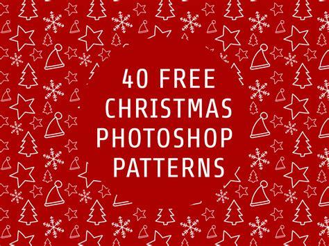 christmas patterns  photoshop   premium pat