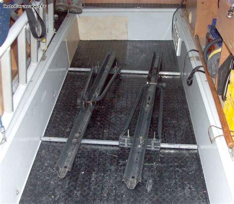 installation d un porte velo en soute garage