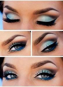 Pretty Blue Eye Makeup   Beauty   Pinterest