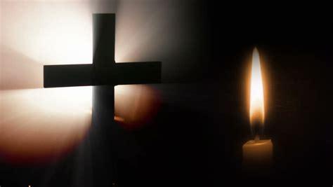Cross, Candle And Dark. Videos de metraje en stock 1978150 ...