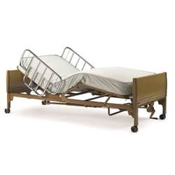hospital bed invacare home use electric bed free mattress and rail set ebay