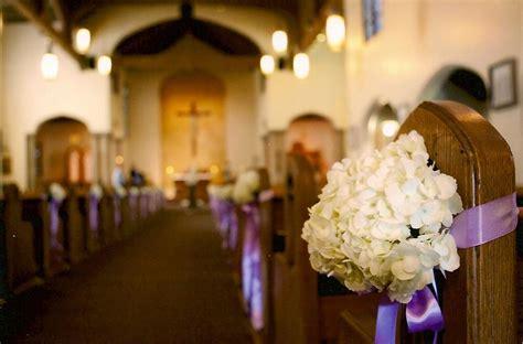 Hydrangea Pew Decor St Marys Catholic Church In Eugene