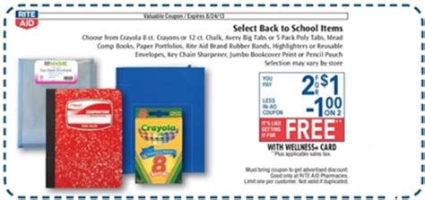 Rite Aid Decorations by Free School Supplies At Rite Aid Starting Sunday 8 18