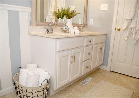 bathroom cabinet transformation living rich