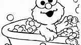 Elmo Coloring Timeless Miracle Name sketch template