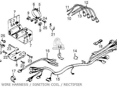 honda cb650sc nighthawk 1984 e usa parts list partsmanual partsfiche