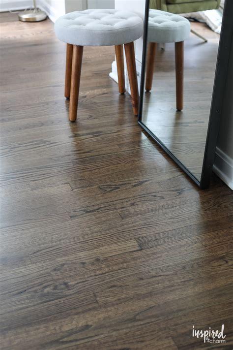 My Refinished Hardwood Floors (dark Walnut Stain