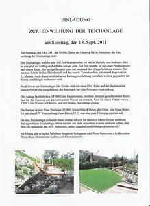 Einladung Zur Einweihung : einladung zur einweihung der teichanlage modellbahn ~ Lizthompson.info Haus und Dekorationen