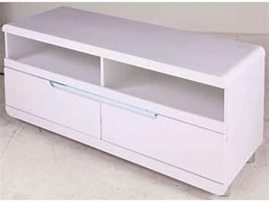Meuble Tv Led Conforama : meuble blanc laque conforama meilleures images d ~ Dailycaller-alerts.com Idées de Décoration