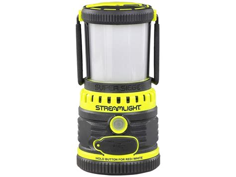siege batterie streamlight siege lantern led rechargeable lithium