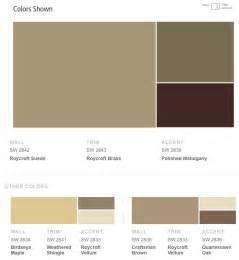 Sherwin-Williams Exterior Paint Color Schemes
