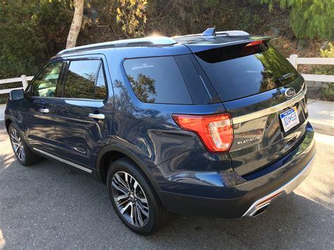 2016 Ford Explorer Platinum Edition Review