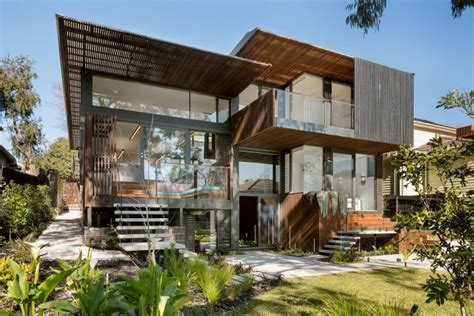 A Beautiful Melbourne House That Connects With Its Exteriors by Zen Architects Designed A House In Melbourne Australia