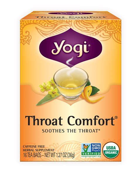 yogi throat comfort throat comfort 174 yogi tea