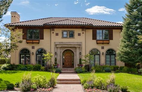 million mediterranean style home  denver