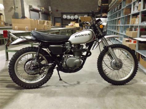 1972 Honda Xl250 Motosport Vintage Enduro Motorcycle Mx