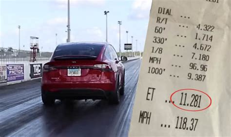 Tesla Model X P100d Sets New Quickest Suv World Record In