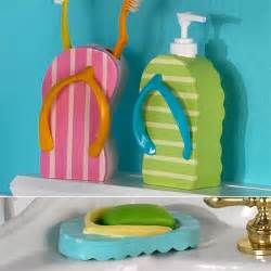 flipflop bath flip flop bathroom accessories theme tsc