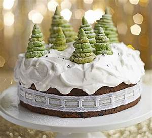 Enchanted forest Christmas cake recipe BBC Good Food